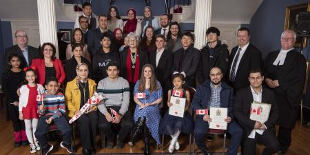 January 31, 2020 New Canadian Citizenship Ceremony - Government House