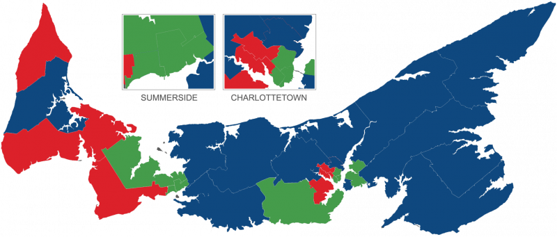 2019 Political Landscape of PEI