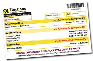 Voter Information Card (VIC)
