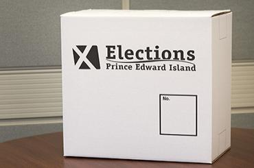 Elections PEI Ballot Box